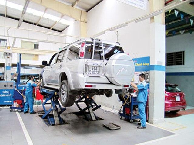 Ford Việt Nam mở rộng dịch vụ bảo dưỡng nhanh trên toàn quốc