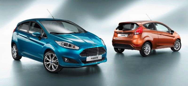 Ford Fiesta với 8 màu sắc dành cho bạn