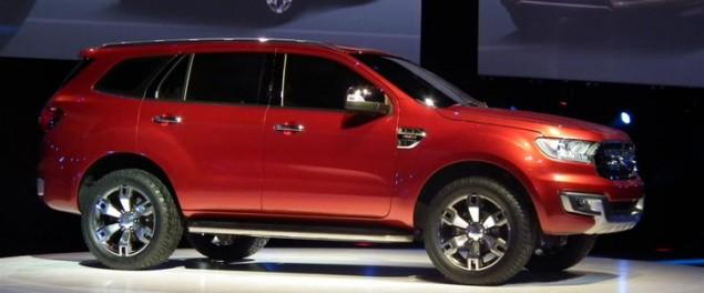 Ford ra mắt mẫu xe Everest Concept tại triển lãm Bangkok Autoshow