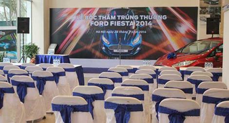 Kết quả chương trình bốc thăm trúng thưởng Lái thử trúng thật Fiesta